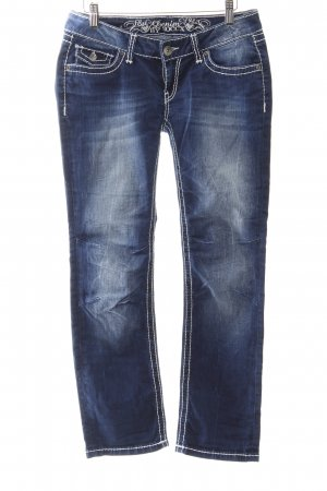 Soccx Straight-Leg Jeans Farbverlauf Urban-Look