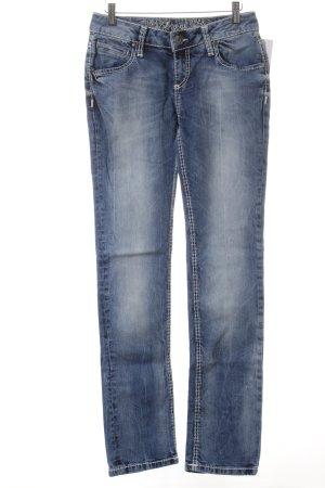 Soccx Straight-Leg Jeans hellblau Casual-Look