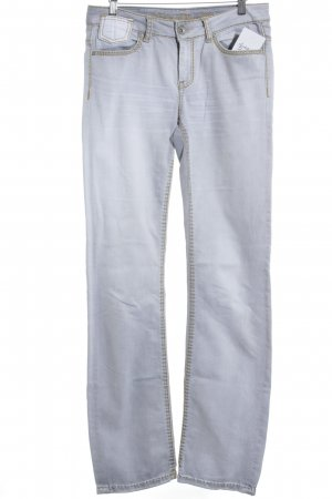 Soccx Straight-Leg Jeans hellblau Street-Fashion-Look
