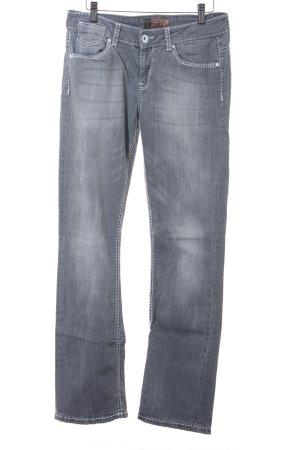 Soccx Straight-Leg Jeans mehrfarbig Washed-Optik