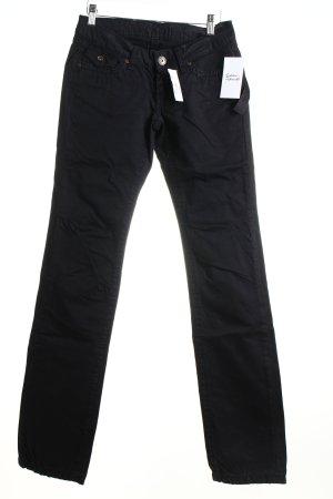 Soccx Straight-Leg Jeans schwarz Casual-Look