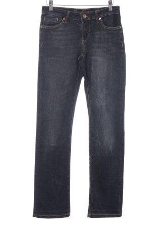 Soccx Straight-Leg Jeans taupe-anthrazit Farbverlauf Casual-Look