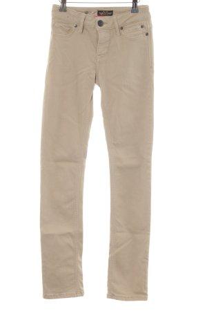 Soccx Stretch Jeans beige Casual-Look