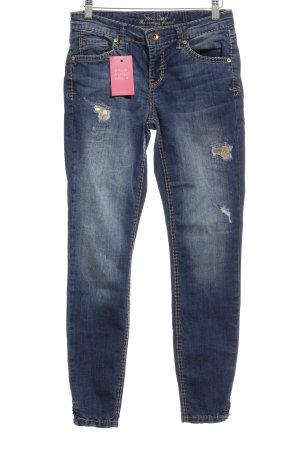Soccx Stretch Jeans stahlblau Casual-Look