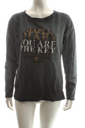 Soccx Sweatshirt dunkelgrau Casual-Look