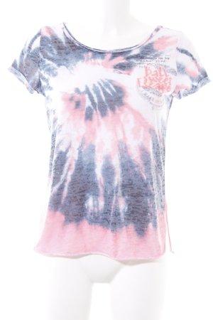 Soccx T-Shirt Farbverlauf sportlicher Stil