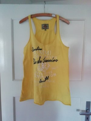 Soccx Off-The-Shoulder Top yellow