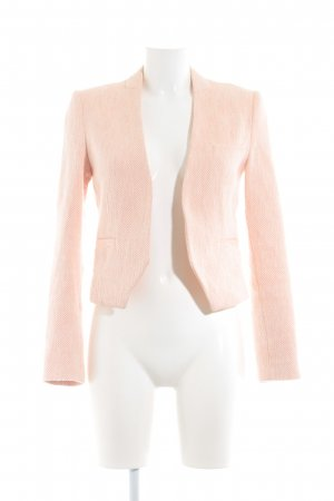 Soccx Tweedblazer hellbeige-neonorange Casual-Look