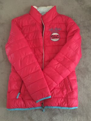 Soccx Quilted Jacket pink