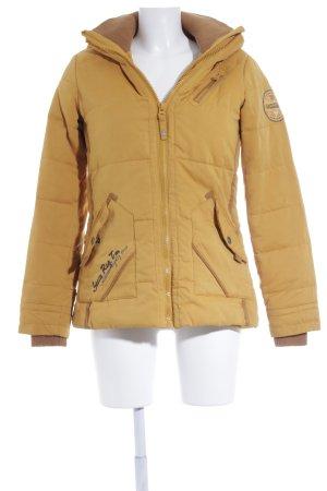 Soccx Winterjacke goldorange sportlicher Stil