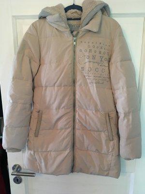 Soccx Manteau à capuche rose chair-gris