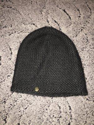 Soccx Chapeau en tricot noir