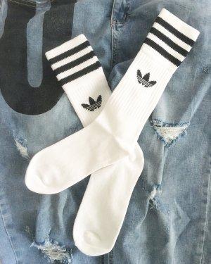 Adidas Bottom white-black