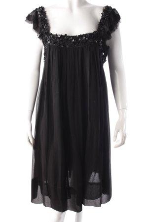 Soda Kleid Pailletten schwarz