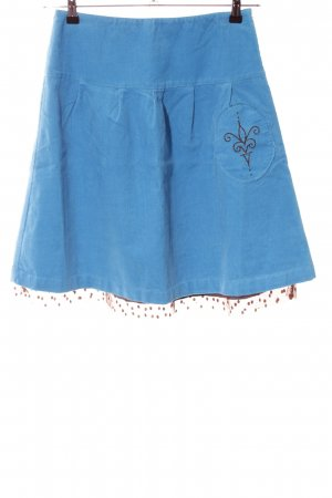 Sofie schnoor Balloon Skirt blue spot pattern casual look