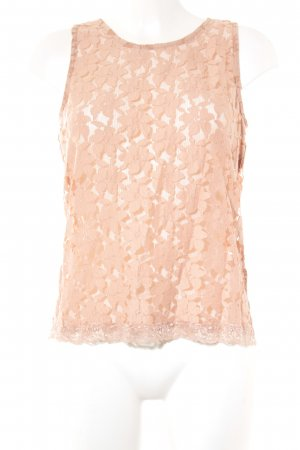 Sofie schnoor Lace Top apricot casual look