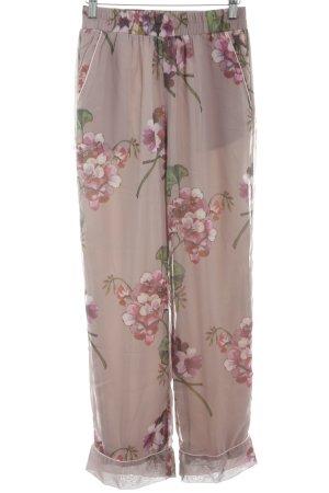 Sofie schnoor Stoffhose florales Muster Romantik-Look