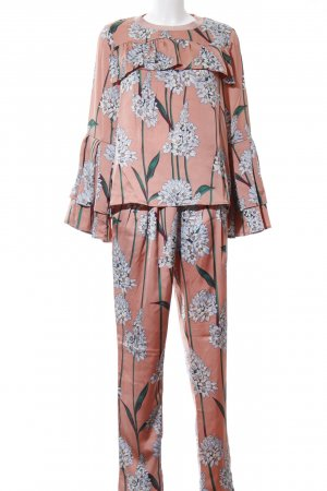 Sofie schnoor Woven Twin Set floral pattern romantic style
