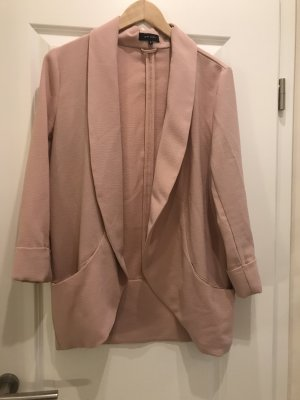 Soft Blazer New Look nude Rosa Oversized