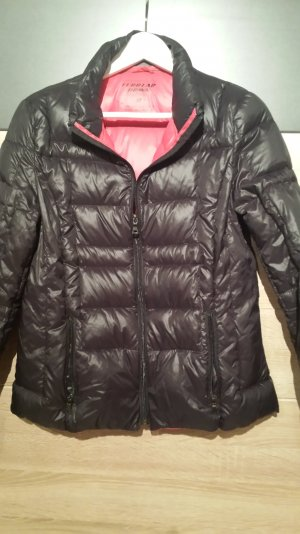 Soft Daunenjacke Wattiert Light Schwarz Gr. M