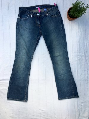SOFT GREY Sommerjeans mit 7/8 Länge, jeansblau, 38
