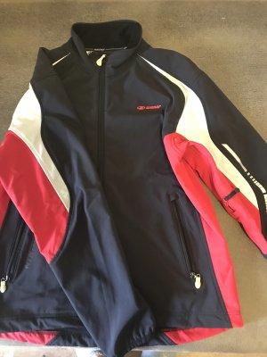 Ziener Outdoor Jacket black-red