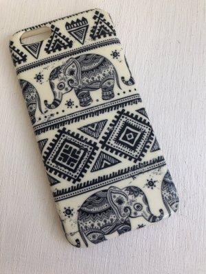 Étui pour téléphone portable crème-gris foncé