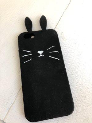Étui pour téléphone portable blanc-noir