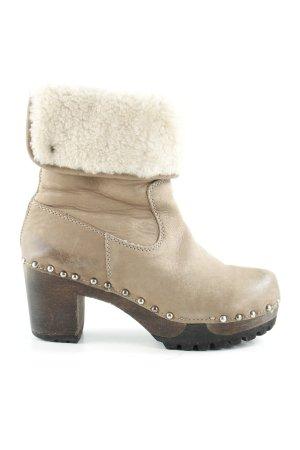 Softclox Heel Boots light brown-cream extravagant style