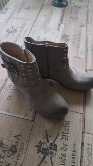 Softclox Laarzen grijs-bruin