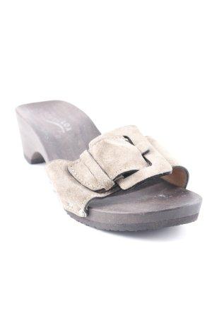 Softclox Riemchen-Sandaletten olivgrün schlichter Stil