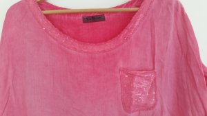 Softes Oversized Shirt in pink