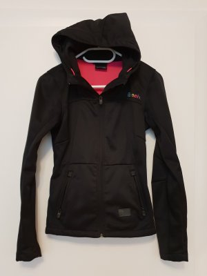 Bench Softshell Jacket black-anthracite