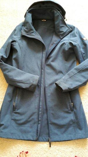 Robe manteau gris ardoise