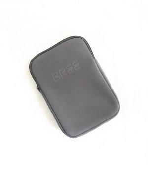 softshell case / beauty case / necessair / grau / bree