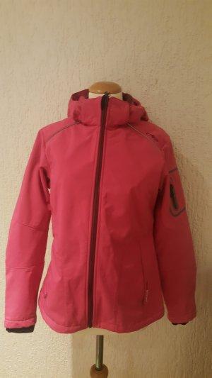 Softshell Jacke dunkles Pink Gr 36 CMP