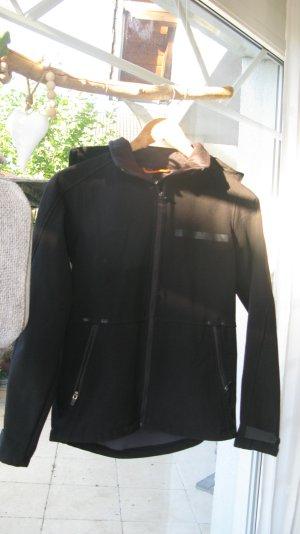 Softshell Jacke H&M Größe 32/34 schwarz mit Kapuze