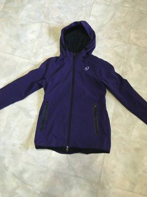 Unlimited Veste softshell violet foncé