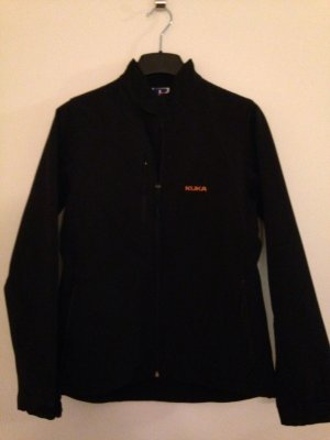 Softshell Jacke in Schwarz