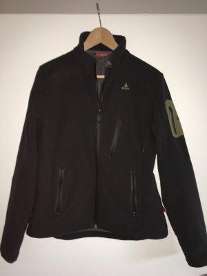 Softshell-Jacke mit wasserdichten Reißverschlüssen