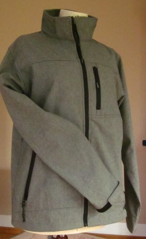 Softshell Jacket grey-light grey mixture fibre