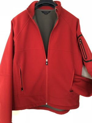 Lands' End Softshell Jacket dark red-grey