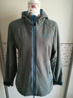 moorhead Softshell Jacket grey-light blue
