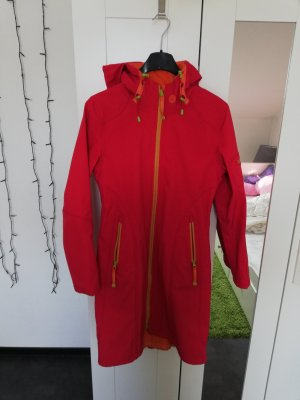 Ilse jacobsen Between-Seasons-Coat neon red