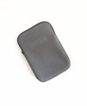 softshell tasche • bree • grau • mobile case