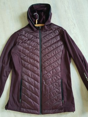 Softshell Jacket black-blackberry-red