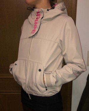 Bench Softshell Jacket cream-pink