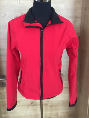 Softshell Jacket black-red