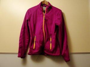 Softshelljacke in pink-violett, GR S, TOP ZUSTAND!