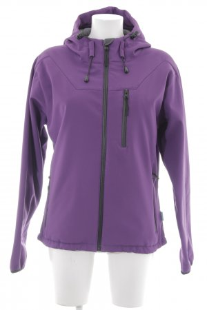 Veste softshell violet-noir style simple